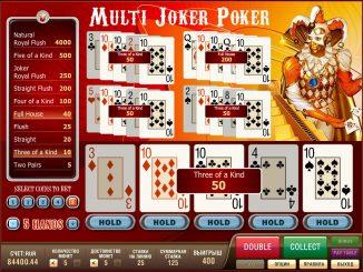 комбинации в покере в казино