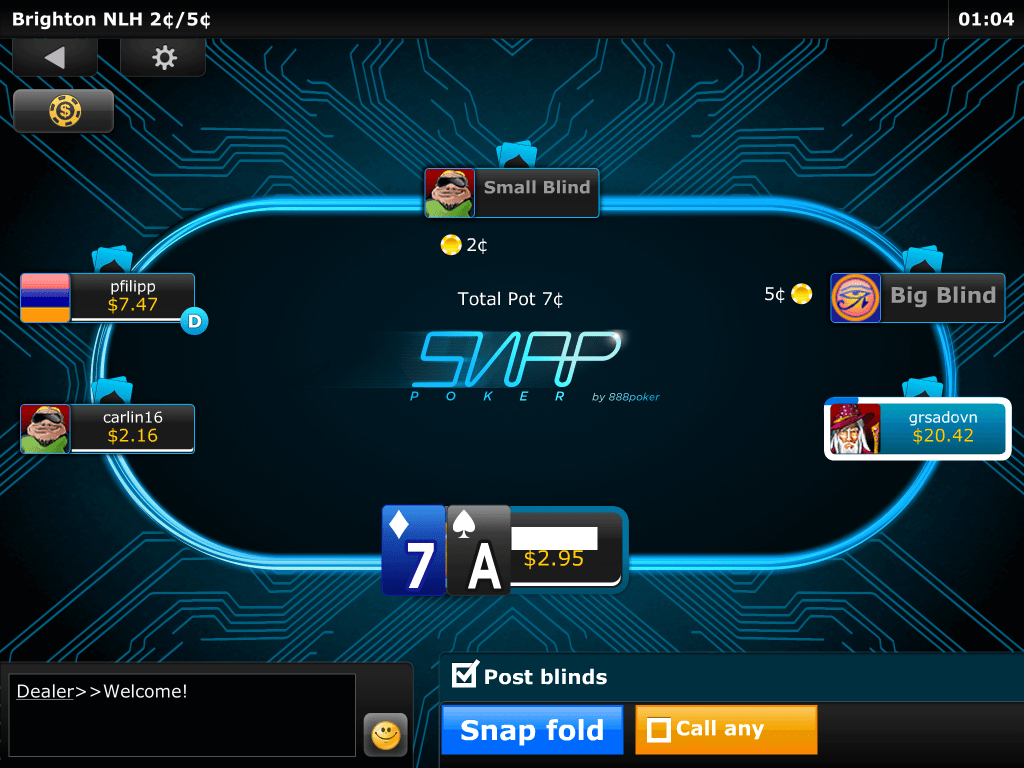 Poker snai points