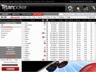 бонус код при регистрации титан покер